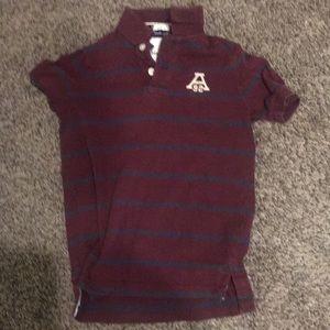 Two polo shirts Abercrombie